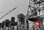 Image of dam under construction United States USA, 1956, second 62 stock footage video 65675070983