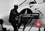 Image of First test flight of the Douglas F5D Skylancer aircraft California USA, 1956, second 4 stock footage video 65675070984