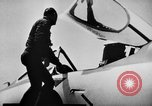 Image of First test flight of the Douglas F5D Skylancer aircraft California USA, 1956, second 7 stock footage video 65675070984