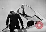 Image of First test flight of the Douglas F5D Skylancer aircraft California USA, 1956, second 10 stock footage video 65675070984
