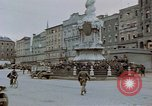 Image of German prisoners being assembled at Town square Linz Austria, 1945, second 21 stock footage video 65675070991