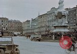 Image of German prisoners being assembled at Town square Linz Austria, 1945, second 24 stock footage video 65675070991