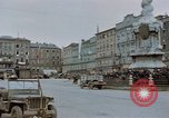 Image of German prisoners being assembled at Town square Linz Austria, 1945, second 25 stock footage video 65675070991