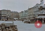 Image of German prisoners being assembled at Town square Linz Austria, 1945, second 26 stock footage video 65675070991
