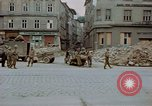 Image of German prisoners being assembled at Town square Linz Austria, 1945, second 32 stock footage video 65675070991