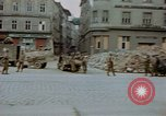 Image of German prisoners being assembled at Town square Linz Austria, 1945, second 33 stock footage video 65675070991