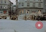 Image of German prisoners being assembled at Town square Linz Austria, 1945, second 34 stock footage video 65675070991