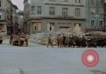 Image of German prisoners being assembled at Town square Linz Austria, 1945, second 35 stock footage video 65675070991