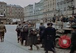 Image of German prisoners being assembled at Town square Linz Austria, 1945, second 45 stock footage video 65675070991
