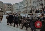 Image of German prisoners being assembled at Town square Linz Austria, 1945, second 48 stock footage video 65675070991