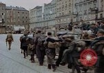 Image of German prisoners being assembled at Town square Linz Austria, 1945, second 50 stock footage video 65675070991