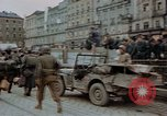 Image of German prisoners being assembled at Town square Linz Austria, 1945, second 55 stock footage video 65675070991