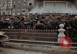 Image of German prisoners being assembled at Town square Linz Austria, 1945, second 61 stock footage video 65675070991
