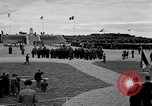 Image of anniversary of D-Day Normandy France, 1945, second 48 stock footage video 65675070997