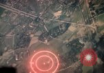 Image of air strikes on road intersection Vietnam, 1967, second 9 stock footage video 65675071012