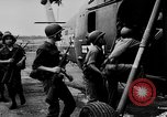 Image of Numerous American helicopters Vietnam, 1963, second 16 stock footage video 65675071037