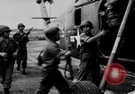 Image of Numerous American helicopters Vietnam, 1963, second 18 stock footage video 65675071037