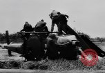 Image of Viet Cong attack U.S.soldiers in crashed helicopter Vietnam, 1965, second 13 stock footage video 65675071042