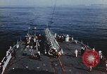Image of launching of Aerobee Pacific Ocean, 1949, second 32 stock footage video 65675071072