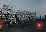 Image of launching of Aerobee Pacific Ocean, 1949, second 43 stock footage video 65675071072