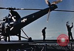 Image of launching of Aerobee Pacific Ocean, 1949, second 17 stock footage video 65675071073