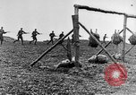 Image of American Army soldiers training in combat during World War 1 France, 1917, second 16 stock footage video 65675071099