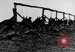 Image of American Army soldiers training in combat during World War 1 France, 1917, second 20 stock footage video 65675071099