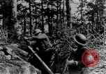 Image of American Army soldiers training in combat during World War 1 France, 1917, second 49 stock footage video 65675071099