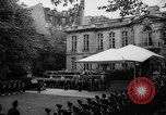 Image of Churchill and De Gaulle meeting Paris France, 1958, second 6 stock footage video 65675071114