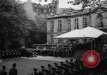 Image of Churchill and De Gaulle meeting Paris France, 1958, second 7 stock footage video 65675071114