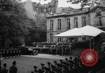 Image of Churchill and De Gaulle meeting Paris France, 1958, second 9 stock footage video 65675071114