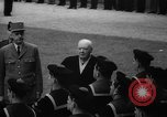Image of Churchill and De Gaulle meeting Paris France, 1958, second 26 stock footage video 65675071114