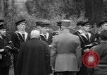 Image of Churchill and De Gaulle meeting Paris France, 1958, second 30 stock footage video 65675071114