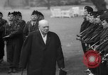 Image of Churchill and De Gaulle meeting Paris France, 1958, second 32 stock footage video 65675071114
