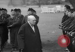 Image of Churchill and De Gaulle meeting Paris France, 1958, second 33 stock footage video 65675071114