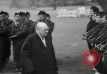 Image of Churchill and De Gaulle meeting Paris France, 1958, second 35 stock footage video 65675071114