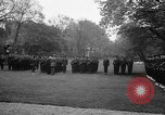Image of Churchill and De Gaulle meeting Paris France, 1958, second 38 stock footage video 65675071114