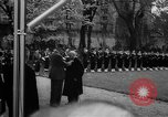 Image of Churchill and De Gaulle meeting Paris France, 1958, second 39 stock footage video 65675071114