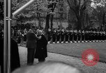 Image of Churchill and De Gaulle meeting Paris France, 1958, second 40 stock footage video 65675071114