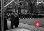 Image of Churchill and De Gaulle meeting Paris France, 1958, second 41 stock footage video 65675071114