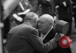 Image of Churchill and De Gaulle meeting Paris France, 1958, second 47 stock footage video 65675071114
