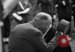 Image of Churchill and De Gaulle meeting Paris France, 1958, second 48 stock footage video 65675071114