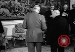 Image of Churchill and De Gaulle meeting Paris France, 1958, second 55 stock footage video 65675071114