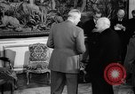 Image of Churchill and De Gaulle meeting Paris France, 1958, second 56 stock footage video 65675071114