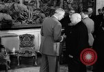 Image of Churchill and De Gaulle meeting Paris France, 1958, second 58 stock footage video 65675071114