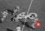 Image of Army versus Rice football Houston Texas USA, 1958, second 17 stock footage video 65675071117