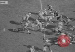 Image of Army versus Rice football Houston Texas USA, 1958, second 29 stock footage video 65675071117