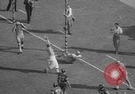 Image of Army versus Rice football Houston Texas USA, 1958, second 51 stock footage video 65675071117