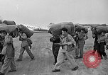 Image of Two USAF C-124 Globemaster aircraft at Orly field in France Paris France, 1952, second 12 stock footage video 65675071122