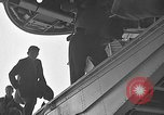 Image of Two USAF C-124 Globemaster aircraft at Orly field in France Paris France, 1952, second 56 stock footage video 65675071122